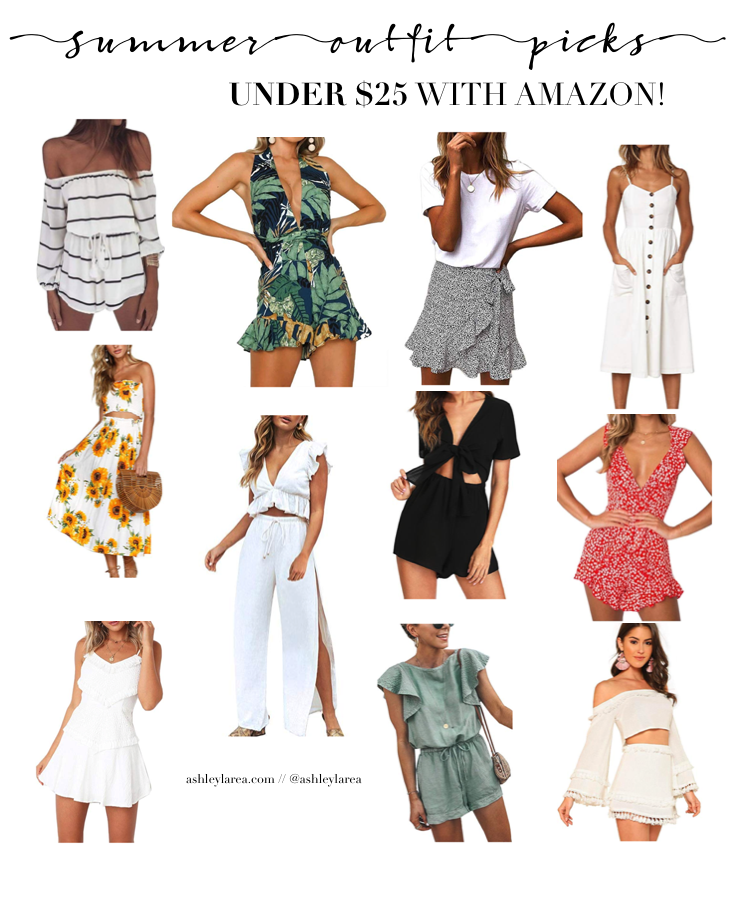summer amazon outfits under