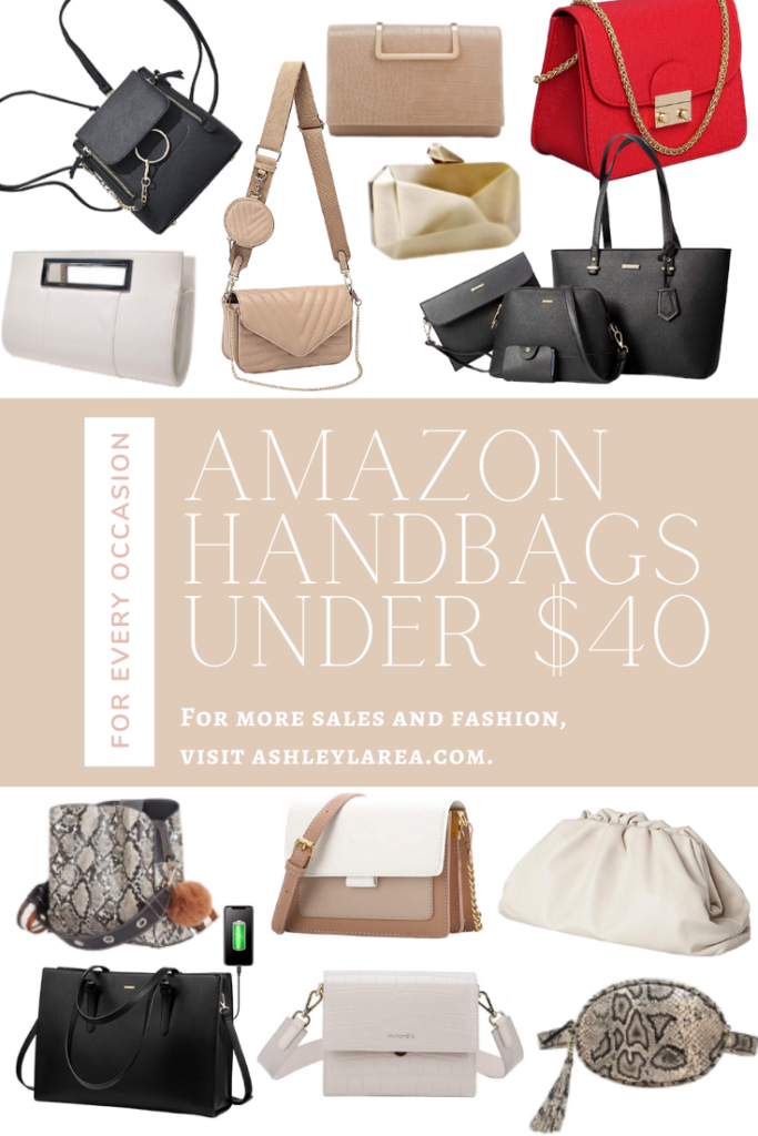 amazon handbags under $40 ashley larea dallas blogger